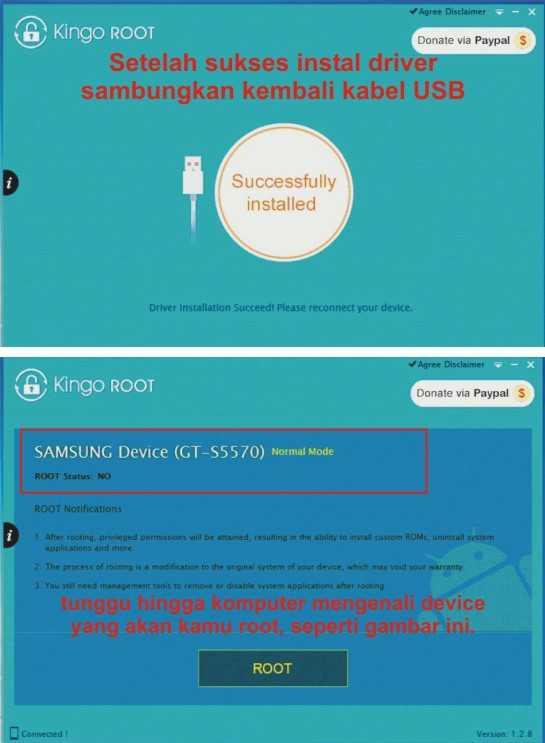 Langkah ketiga me-Root Android