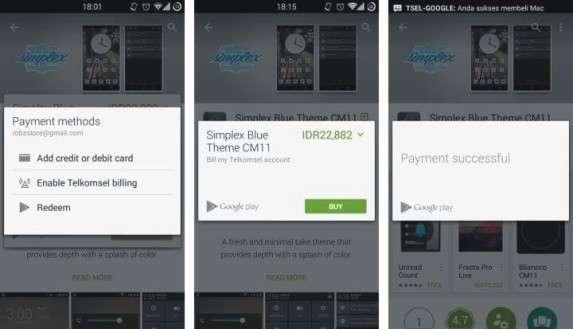 cara beli aplikasi berbayar pakai pulsa telkomsel