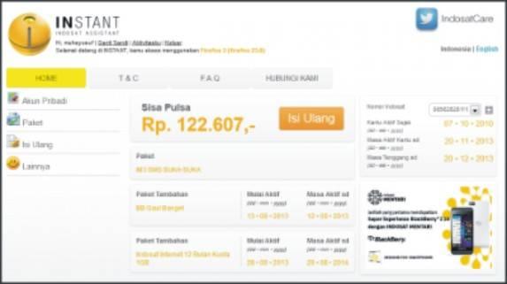 aplikasi android Indosat