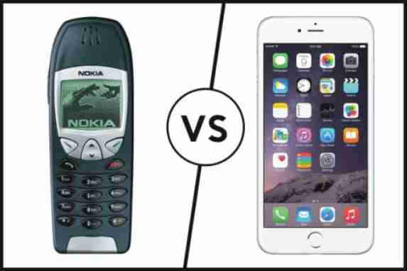 hp jadul vs smartphone