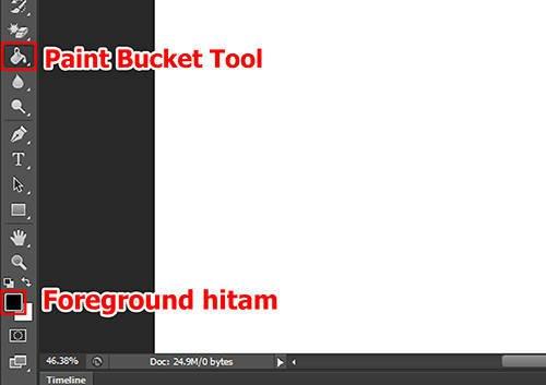 langkah kedua Cara Membuat Tipografi Quotes dengan Photoshop
