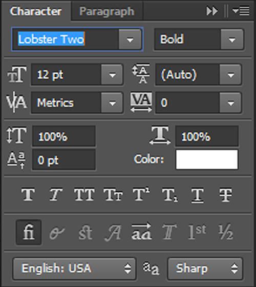 karakter 1 Cara Membuat Tipografi Quotes dengan Photoshop