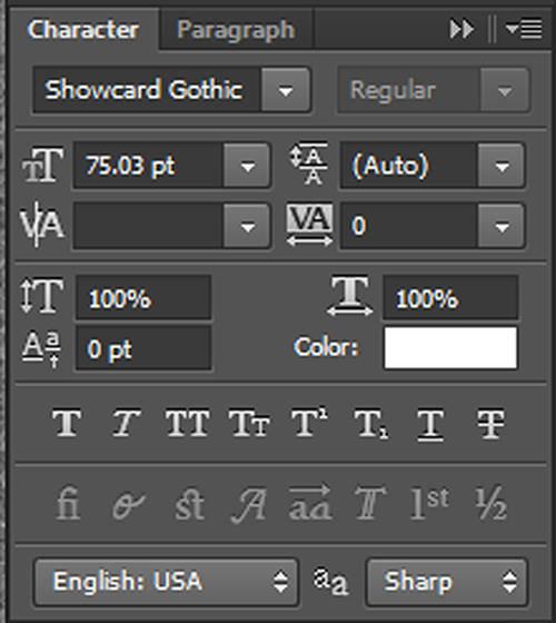 karakter 2 Cara Membuat Tipografi Quotes dengan Photoshop