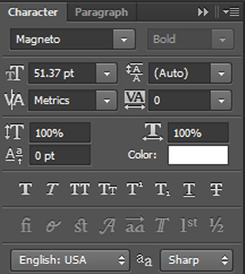 karakter 4 Cara Membuat Tipografi Quotes dengan Photoshop