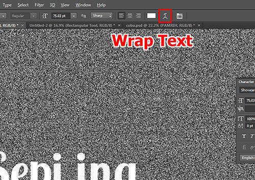 langkah ke delapan Cara Membuat Tipografi Quotes dengan Photoshop