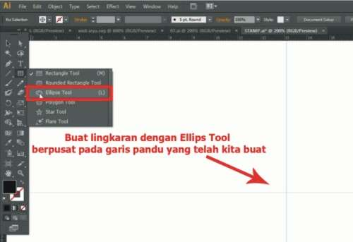 Cara membuat desain stempel dengan Adobe Illustrator