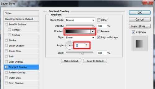 Langkah kedelapan Cara membuat efek Tipografi pada wajah dengan Adobe Photoshop