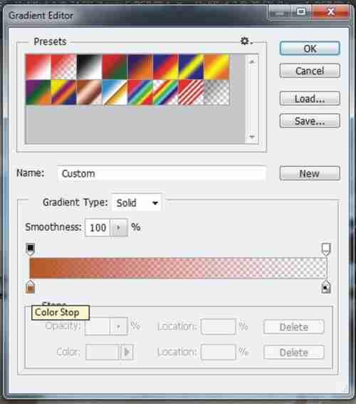 Langkah ketujuh membuat efek vintage pada foto di Photoshop