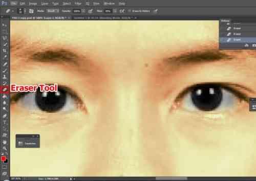 Langkah kedelapan Cara edit foto hitam putih menjadi warna di Photoshop