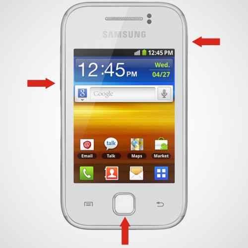 Langkah kedua Flash Samsung Galaxy Young GT-S5360