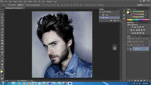 langkah pertama Cara Membuat Desain Kaos Tipografi dengan Photoshop