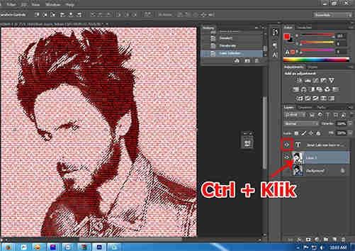 langkah ke sepuluh Cara Membuat Desain Kaos Tipografi dengan Photoshop