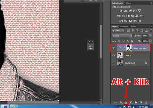 langkah ke sebelas Cara Membuat Desain Kaos Tipografi dengan Photoshop