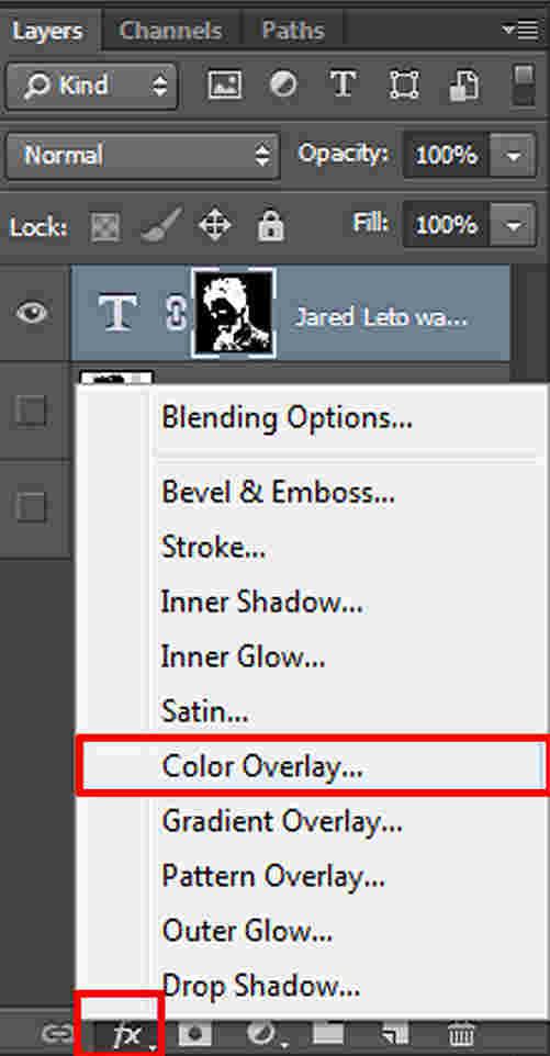 langkah ke empat belas Cara Membuat Desain Kaos Tipografi dengan Photoshop
