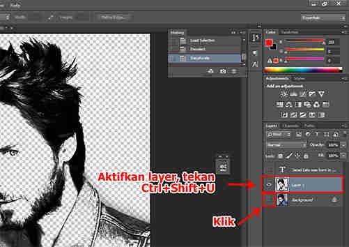langkah ke sembilan Cara Membuat Desain Kaos Tipografi dengan Photoshop