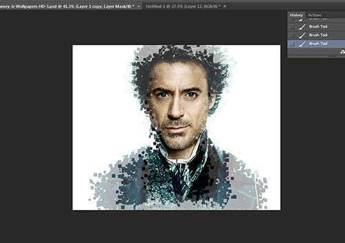 Cara Membuat Border Pixel Dengan Photoshop (13)