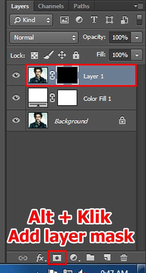 langkah ke dua Cara Membuat Border Pixel Dengan Photoshop