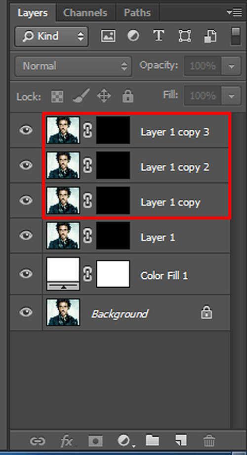 langkah ke tiga Cara Membuat Border Pixel Dengan Photoshop