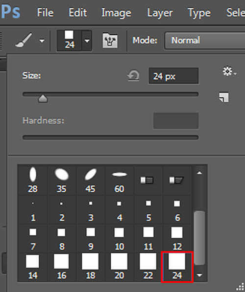langkah ke lima Cara Membuat Border Pixel Dengan Photoshop
