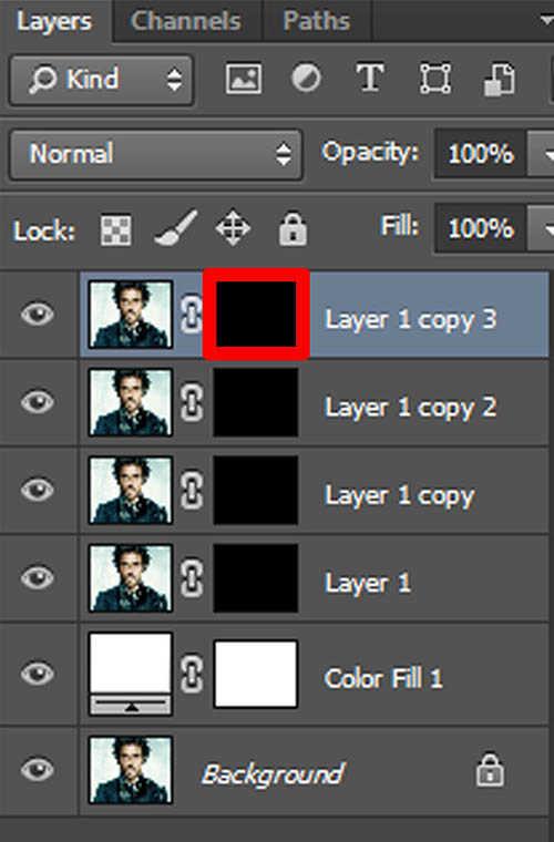 langkah ke delapan Cara Membuat Border Pixel Dengan Photoshop