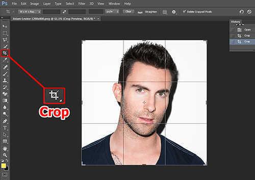 langkah pertama Cara Membuat Efek Anyaman Pada Foto Dengan Photoshop