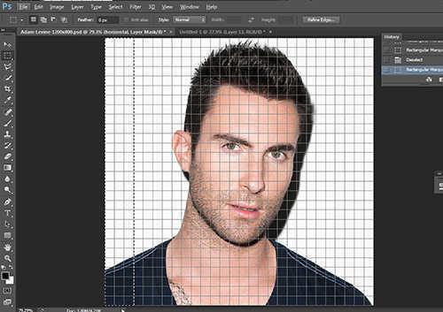 langkah ke sepuluh Cara Membuat Efek Anyaman Pada Foto Dengan Photoshop