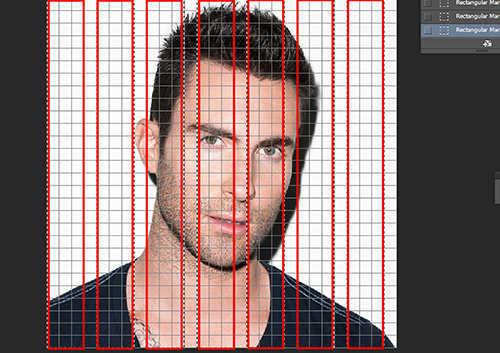 langkah ke sebelas Cara Membuat Efek Anyaman Pada Foto Dengan Photoshop