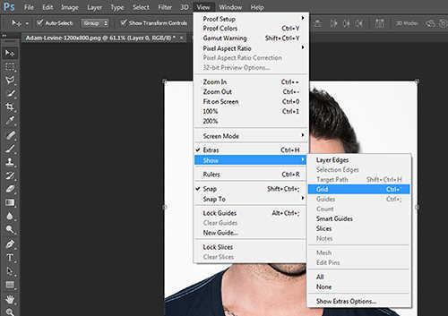 langkah ke dua Cara Membuat Efek Anyaman Pada Foto Dengan Photoshop