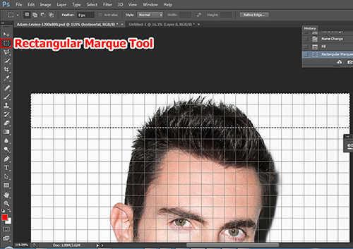 langkah ke enam Cara Membuat Efek Anyaman Pada Foto Dengan Photoshop