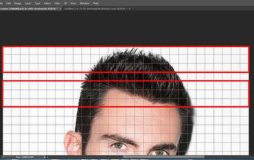 langkah ke tujuh Cara Membuat Efek Anyaman Pada Foto Dengan Photoshop