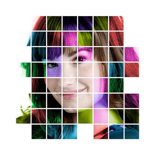 langkah ke dua puluh Cara Membuat Efek Color Grid (Efek Kotak Warna) Dengan Photoshop