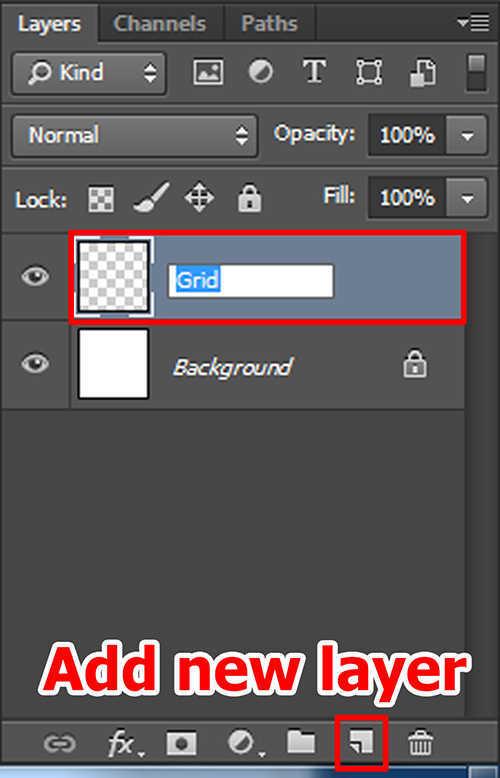 langkah ke empat Cara Membuat Efek Color Grid (Efek Kotak Warna) Dengan Photoshop