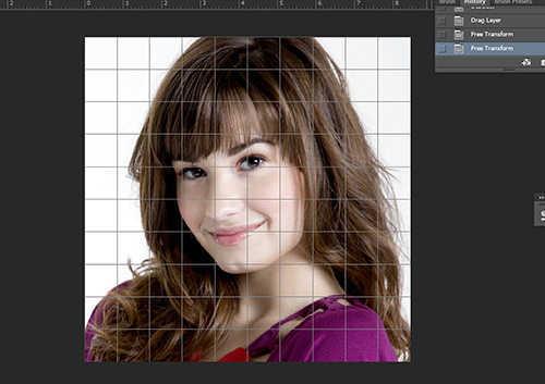 langkah ke sembilan Cara Membuat Efek Color Grid (Efek Kotak Warna) Dengan Photoshop