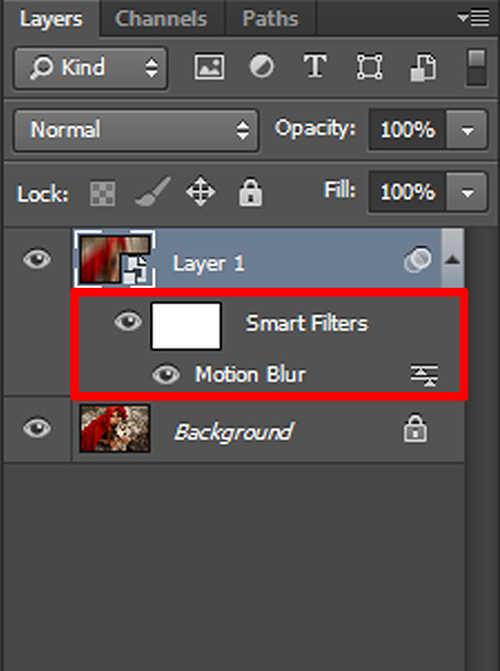 langkah ke tiga Cara Membuat Efek Glow Dengan Photoshop