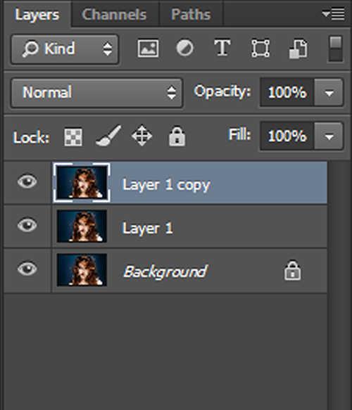 langkah pertama Cara Membuat Efek Hantu Dengan Photoshop