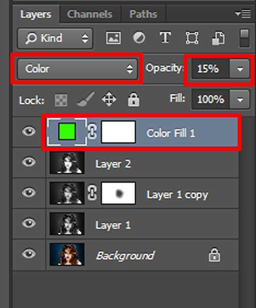 langkah ke sebelas Cara Membuat Efek Hantu Dengan Photoshop