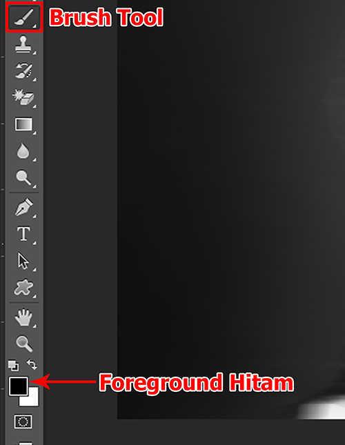 lamgkah ke empat Cara Membuat Efek Hantu Dengan Photoshop
