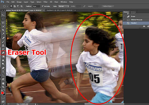langkah ke sebelas Cara Membuat Efek High Speed Motion Trail Dengan Photoshop