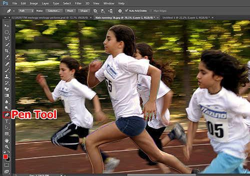 langkah ke dua Cara Membuat Efek High Speed Motion Trail Dengan Photoshop