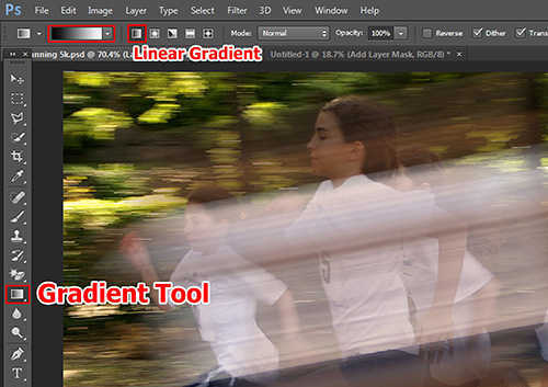 langkah ke delapan Cara Membuat Efek High Speed Motion Trail Dengan Photoshop
