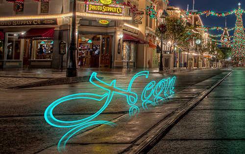 langkah ke sebelas Cara Membuat Efek Neon Pada Teks Dengan Photoshop