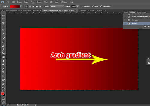 langkah ke sembilan Cara Membuat Efek Panas Pada Foto Dengan Photoshop