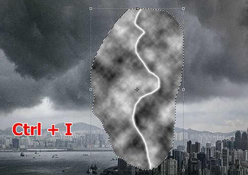 langkah ke sepuluh Cara Membuat Efek Petir Dengan Photoshop