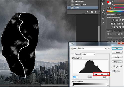 langkah ke sebelas Cara Membuat Efek Petir Dengan Photoshop