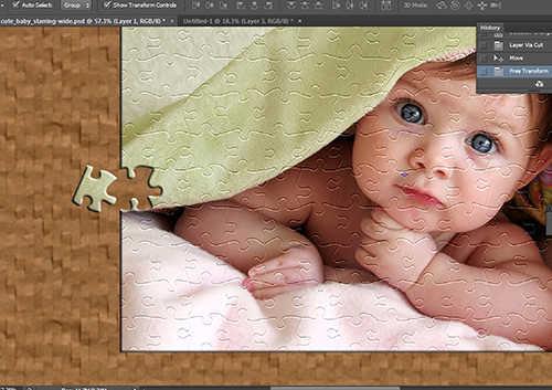 Cara Membuat Efek Puzzle dengan Photoshop (11)