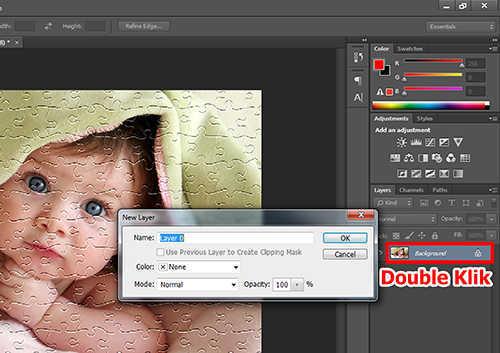 Cara Membuat Efek Puzzle dengan Photoshop (4)
