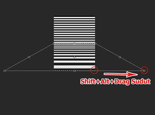 langkah ke sembilan Cara Membuat Refleksi Pada Air Dengan Photoshop
