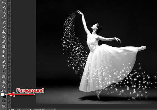 langkah ke sepuluh Cara Menambah Efek Sparkle Pada Foto Dengan Photoshop