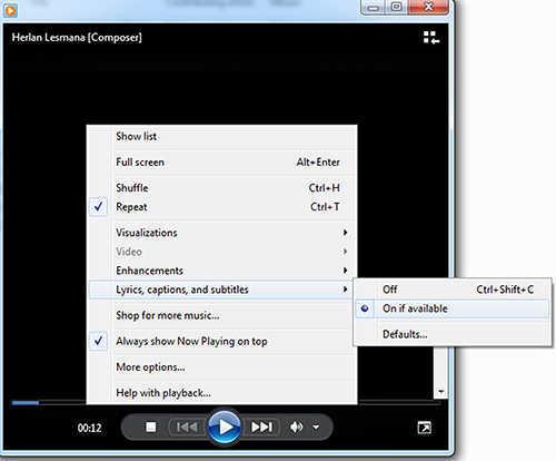 langkah ke delapan Cara Menambah Lirik Pada Lagu Mp3
