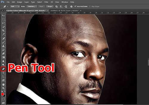 langkah ke dua Cara Menerapkan Tekstur Pada Wajah Dengan Photoshop